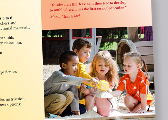 Village Montessori School brochure