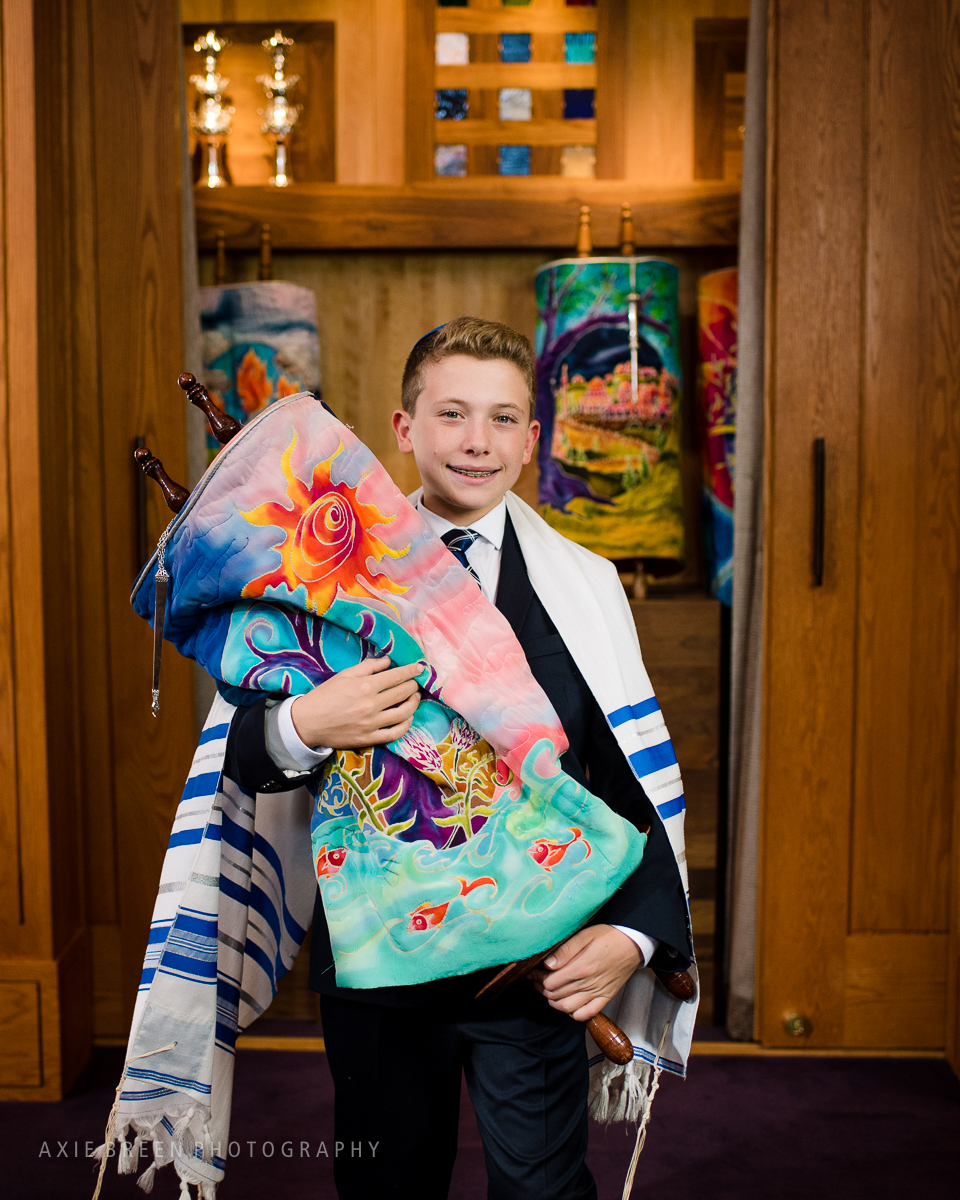 bar mitzvah photography Needham Boston Temple Aliyah