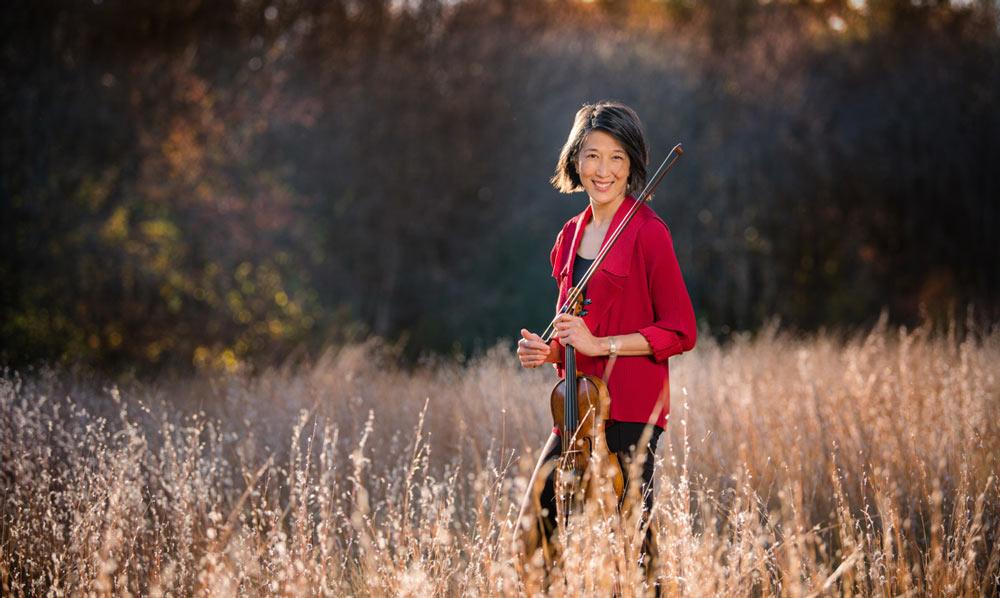 Musician portrait, Lucia Lin, classical musician headshot, Boston photographer
